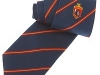 41. AC Brook - rugby fellowship classic colour woven club tie with satin stripes