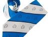 139. Blackrock College - 100% pure silk printed tie with allover crest