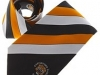35. Castleford Tigers - classic colour woven club tie with satin stripes