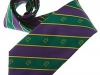 38. Chess Masters - classic colour woven club tie with logo throughout