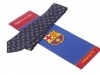 113. FCB Barcelona - printed 100% pure silk promotional corporate gift tie and scarf