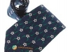 17. FAI Junior Council - printed 100% pure silk tie