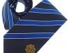 34. Garda G.A.A - classic colour woven club tie with satin stripes