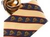 31. Hibernian Golf Association - printed 100% pure silk club tie