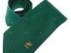 26. Irish Cricket Union -  colour woven textured sports club tie