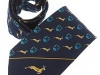 21. Limavady South Africa Tour Tie -  all over patterned printed tie
