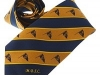 33. Monkstown Bay Sailing Club - printed 100% pure silk club tie