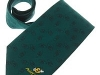 22. Point Chaud France -  embossed woven patterned promotional tie
