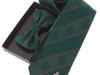 80. Police Services Of N. Ireland - Colour woven tie & bow with embossed crest