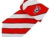 49. Skibbereen Rugby Club - printed striped rugby club tie