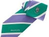 43. Wildcats Cricket Club - classic colour woven club tie with satin stripes