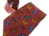 18. Butterfly Association U.S.A - printed 100% pure silk tie promotional gift