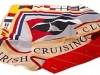 116. Irish Cruising Club - printed 100% pure silk promotional corporate gift tie and scarf