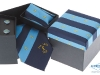 78. K 762 - printed promotional boxed tie cuff-links and hankie gift set