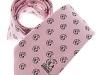 5. Prawn Sandwich Brigade -  colour woven 100% pure silk tie corporate gift
