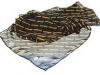 123. Servisair - chiffon printed ladies corporate scarf