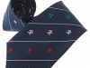 40. Rugby Fellowship - fundraising printed 6 nations 100% pure silk tie