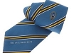 140. Tall Ships Race - colour woven tie with textured ground with satin stripes