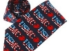 54. U.S.M.C - loud design, U.S. music promotional gift tie