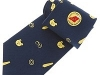 50. Bahrain Duty Free - printed 100% pure silk uniform tie