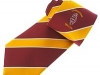 53. Commodore Hotel - classic colour woven uniform tie with satin stripes