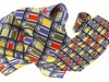 111. Dublin Tourism - printed 100% pure silk promotional corporate gift tie and scarf