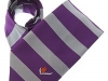 39. Dutch Tulip Exporters - colour woven corporate uniform tie with bold horizontal stripes