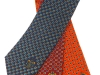 71. Leinster Shipping - printed corporate gift ties in a series of colours presented over 3 years