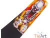 142. Snooker & Pool Club - promotional fun printed tie with several colour screens
