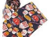 57. K.F.C - colourful printed corporate promotional tie