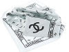 127. Chanel - printed 100% pure silk promotional corporate gift scarf