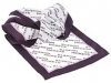 124. Hickeys Pharmacy - printed corporate ladies scarf with all-over pattern