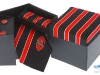 77. Faithlegg Country Club - printed 100% pure silk tie promotional boxed tie cuff-links and hankie gift set